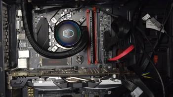 酷冷至尊CoolerMaster海魔240G水冷散热器购买理由(灯光|散热器)