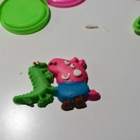 小猪佩奇 生日派对彩泥模具套装使用总结(手感 价格)