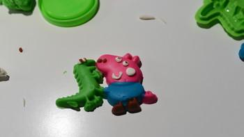 小猪佩奇 生日派对彩泥模具套装使用总结(手感|价格)