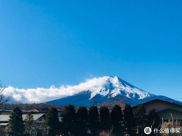 每天看到富士山都能心旷神怡一下