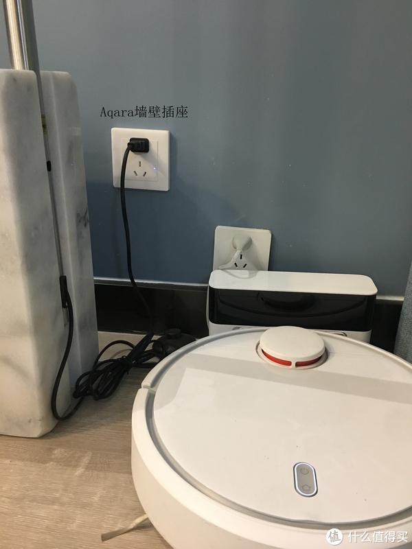 落地灯使用了小米智能插座,配合人体传感器等使用
