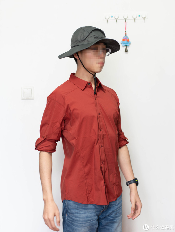 始祖鸟衬衣入手—Arc'teryx elaho LS (Pompei Red) 庞贝红
