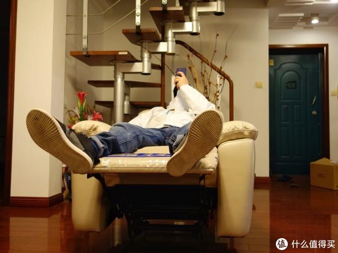 好想好想,就这样静静赖在你身上——芝华仕头等舱沙发