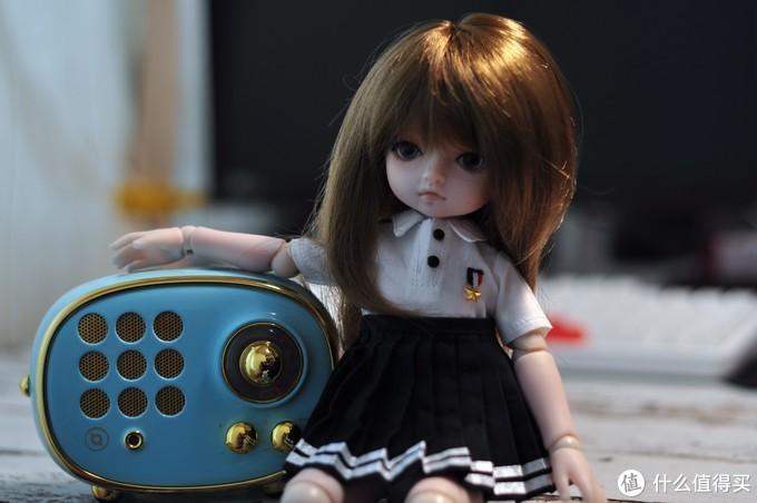 可萌可贱还可爱,小可乐仿真萌系BJD娃娃入手体验