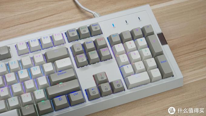 复古键帽搭配RGB灯效,炫酷情怀两开花--AJAZZ黑爵 AK510机械键盘