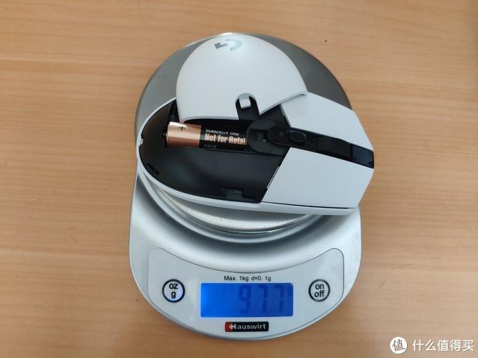 自带电池,重量97.7克