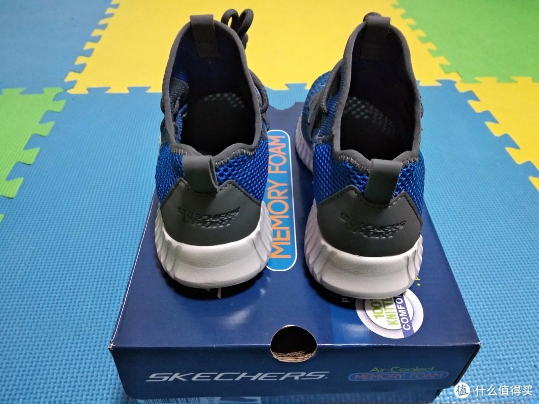 鞋子的前部能透光。