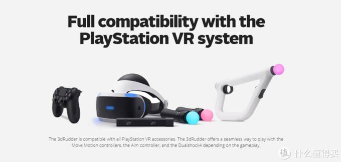 """重返游戏:PSVR""""脚柄""""控制器发布 VR世界自由移动"""