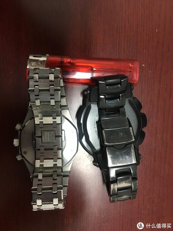 表带锁扣对比