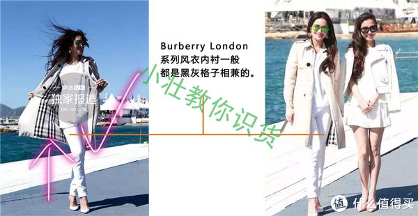 Burberry风衣辨别真假-三图对比法