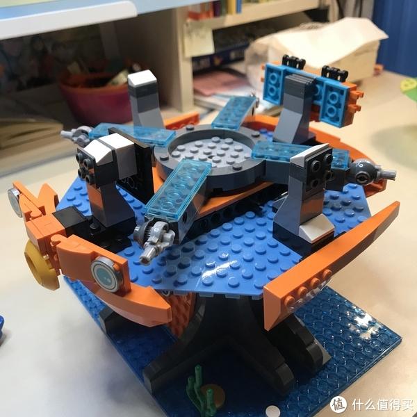 高还原!海底小纵队章鱼堡