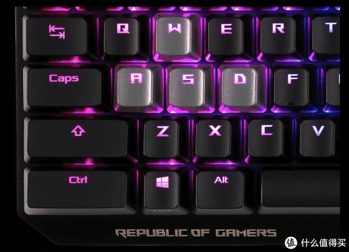 简约设计,加长版Ctrl键:ROG 玩家国度 发布 ROG STRIX CTRL机械键盘