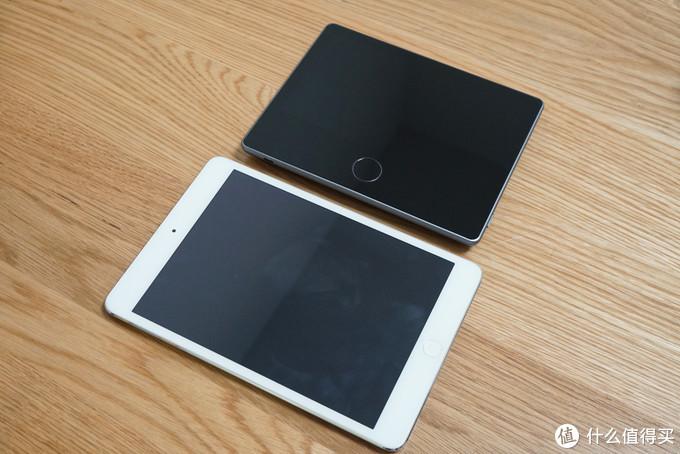 屏幕主机与iPad mini的对比