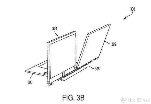 笔记本也可以组双屏:DELL 戴尔 公布 笔记本创新双屏设计专利