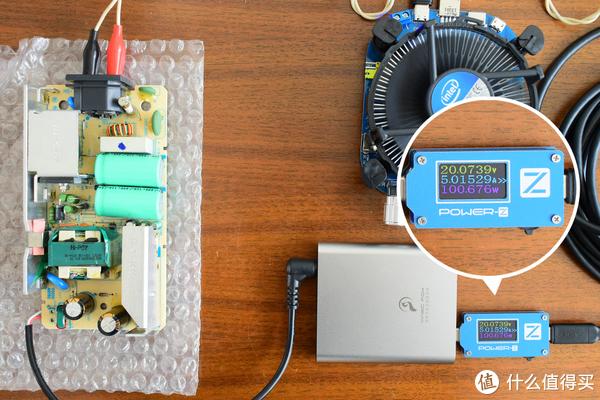 老笔记本电源秒变PD多协议电源——魔狐便携式桌面充评测