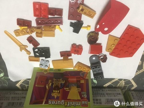 LEGO党的第一次国产积木体验之旅,启蒙人仔1503简单测评