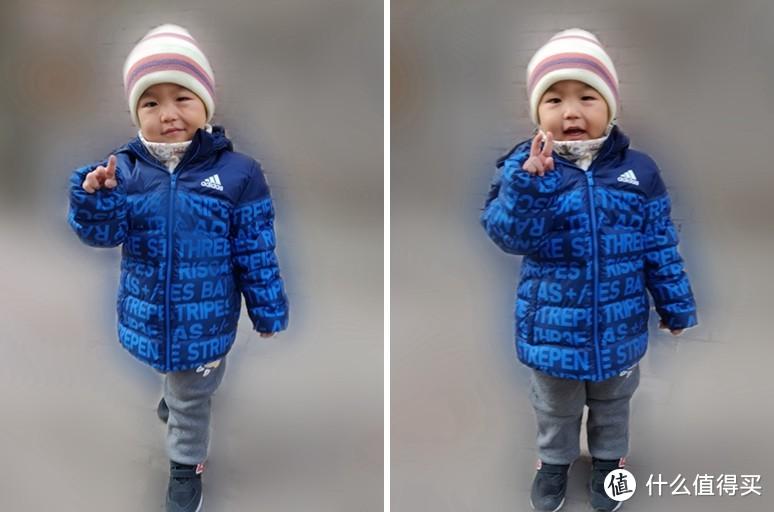 天冷了,给宝宝买件羽绒服吧—阿迪达斯儿童羽绒服简晒