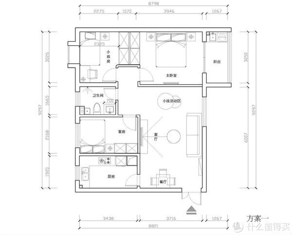 图书馆猿の新房装修血泪史01:宜家风满满的客厅