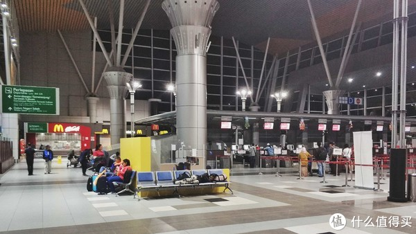 亚庇机场,麦当劳价格和国内非繁华地段一致