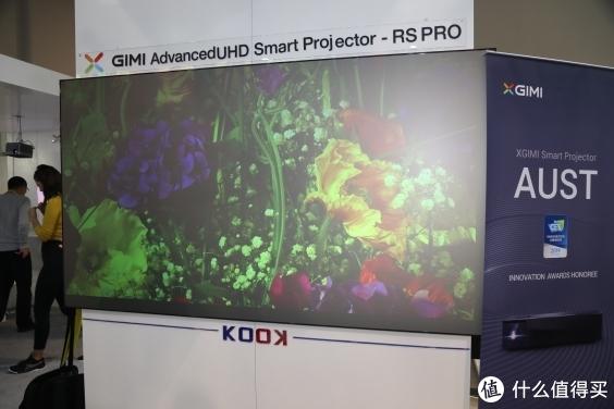 更高清视觉冲击!极米CES2019亮相4K无屏电视新品极光RS Pro