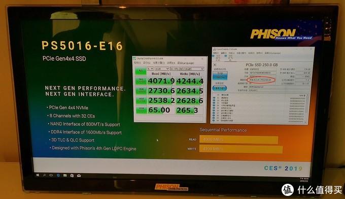 性能超4GB/s:Phison 群联 展出 全球首款 PCIe 4.0 NVMe SSD 主控
