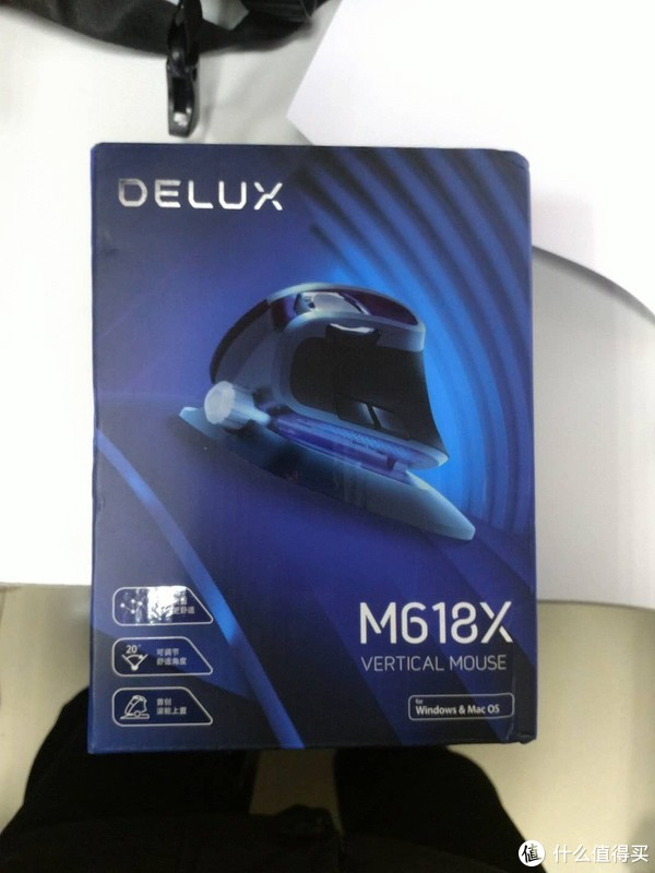 该吹就吹,该黑就黑  评测多彩Delux M618X人体工程学垂直鼠标