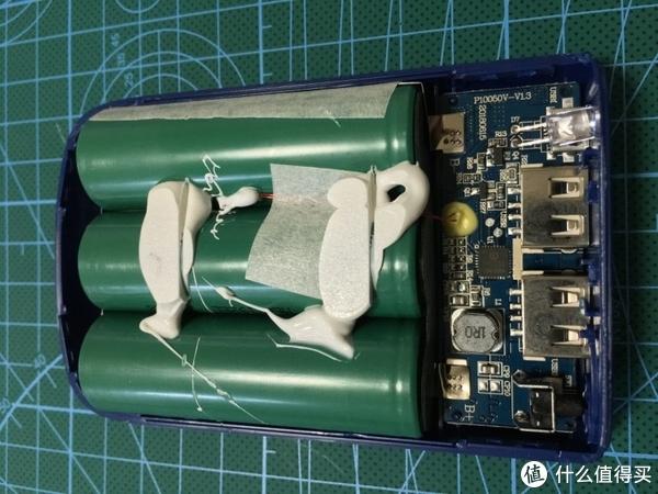 PCB正面,上方写了型号P10050V-V13,且注明时间20180615