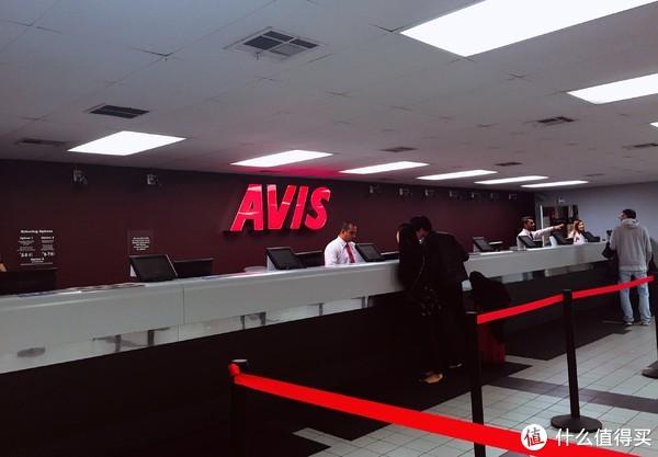 到达租车公司AVIS
