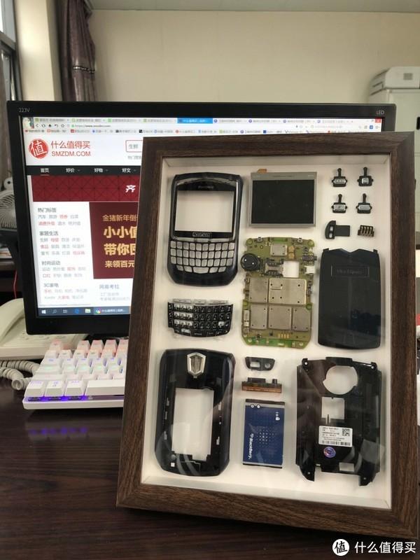另一种重生,寻找记忆中的黑莓8700,记录一次手机标本的诞生