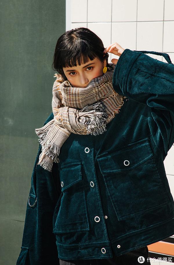 时髦穿搭必备围巾,教你当个百变小仙女