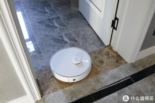 卫生间的不到2公分厚的挡水砖,也是成功跨越