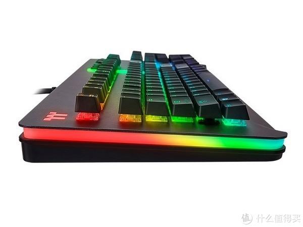 Cherry银轴:Thermaltake 曜越 发布 Level 20 RGB 机械键盘