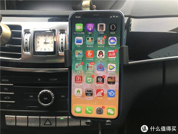 导航充电两不误,关键支持无线充:CHOETECH 车载无线充电器评测