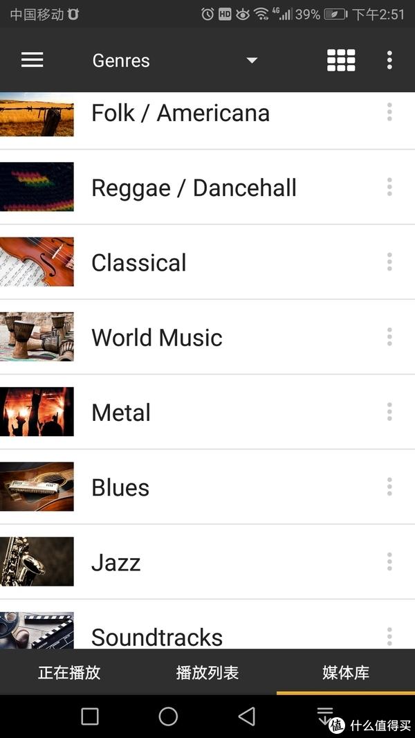 进入Genre 就可以选择音乐类别