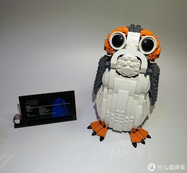 萌宠来袭——乐高Lego 波尔格鸟(Porg)75230