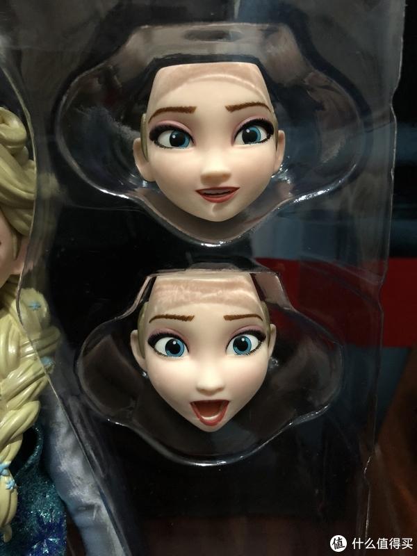 另外两张脸的表情也很有特点。