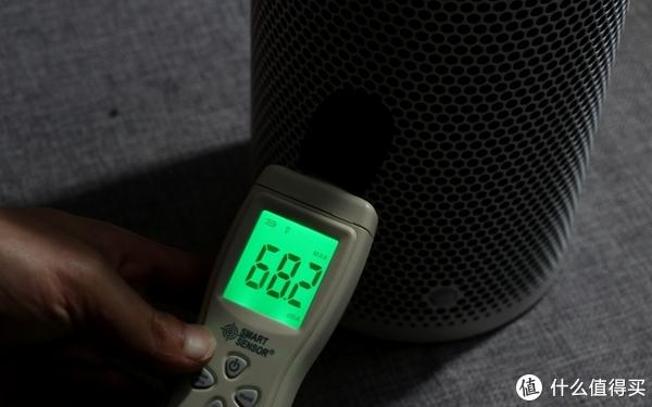 强力制热模式下,噪声测试
