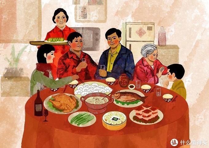 过年的年味—全家人一起做雪花酥