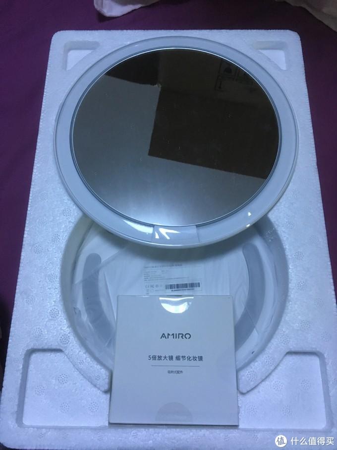 超越松下的化妆镜——AMIRO MINI系列高清日光化妆镜测评