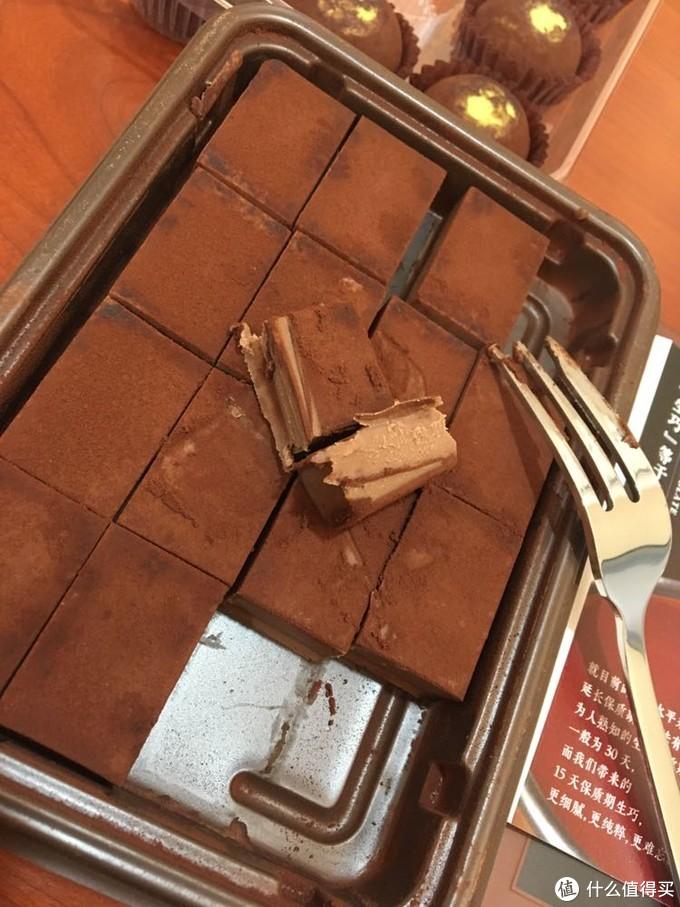好利来蒲公英空气巧克力及生巧克力开箱