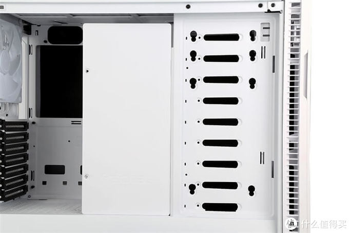 白色崇奉充值 FD分形工艺Define R6 TG 极光白机箱