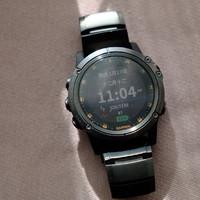 佳明 Fenixfenix 5Xplus钛合金户外运动手表使用总结(防水|质量|表盘)