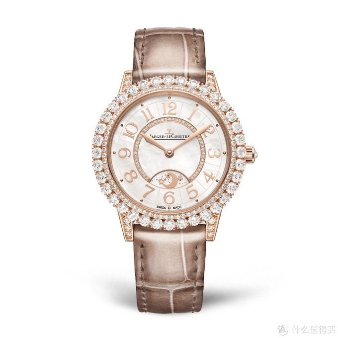 约会系列日夜显示珠宝腕表,玫瑰金表壳,直径36毫米,中国大陆售价358,000(含税)