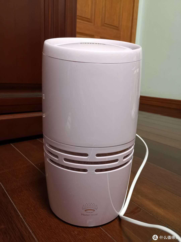 PHILIPS 飞利浦 冷蒸发家用静音空气加湿器测评