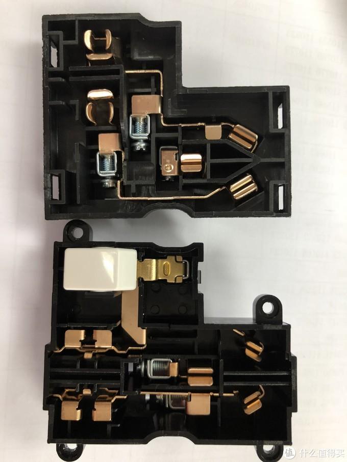 ABB插座拆解—德静16A开关、永致五孔开关、轩致斜五孔