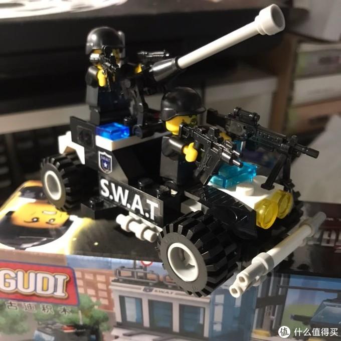 凑单用的防爆突击车
