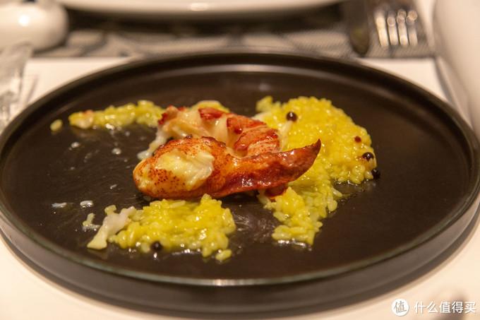 藏红花汁龙虾饭