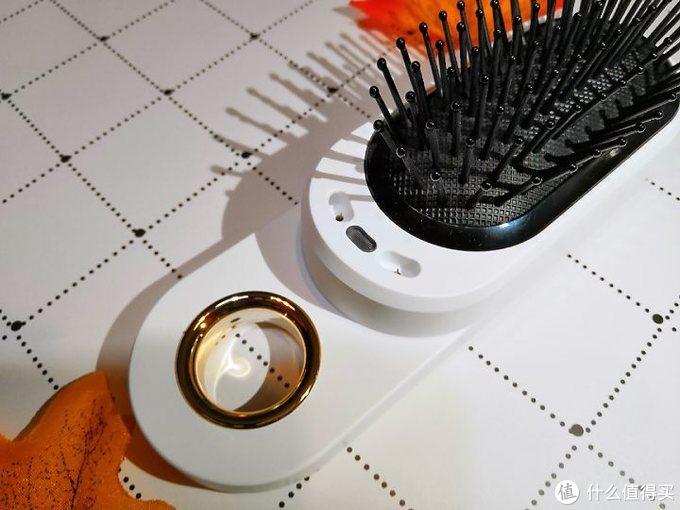 Anion Comb An8负离子震动按摩梳开箱使用测评