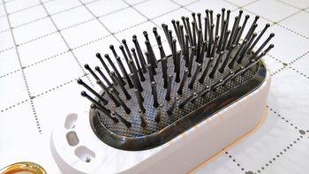 Anion Comb An8负离子震动按摩梳使用总结(颜值|按钮|梳齿)