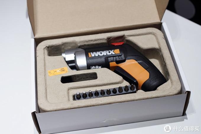 超值99元?组装家具必备,晒威克士WX252.2电动螺丝刀